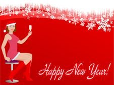 Free New Year Card Stock Photos - 17809573