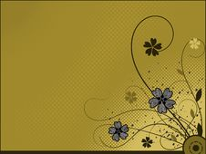 Free Floral Background Stock Images - 17809974