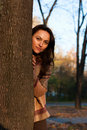 Free Beautiful Young Woman In Autumn Stock Photos - 17811953