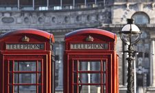 Free Red Telephone Boxes Stock Photos - 17810143