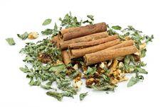 Free Cinnamon Sticks Royalty Free Stock Images - 17810309