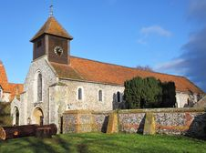 Free An English Village Church And Tower Stock Photos - 17811403