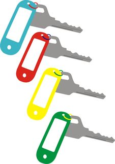 Free Set Of Keys Stock Image - 17811481