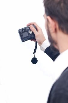 Free Man With Camera Stock Photography - 17812062