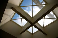 Free Cross Ceiling Windows Stock Photos - 17812073