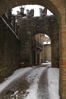 Free Italian Alley Royalty Free Stock Photography - 17812987
