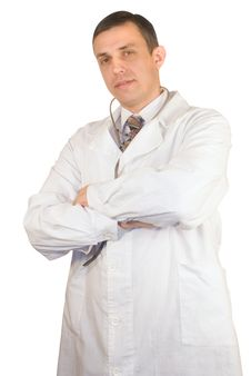 Free Portrait Of The Children S Doctor Royalty Free Stock Image - 17813306