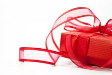 Free Red Gift Stock Image - 17813341