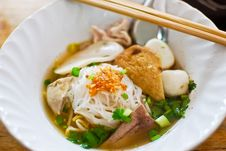 Free Asian Style Noodle Stock Photography - 17813342