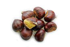 Free Chestnuts Open Stock Images - 17814094