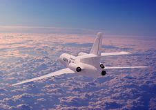 Free A Passenger Plane Royalty Free Stock Photos - 17814338