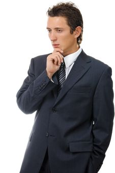 Free Portrait Of A Young Ambitious Businessman Royalty Free Stock Photography - 17814477