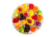 Free Box Of Candies From Marmalade Stock Image - 17814491