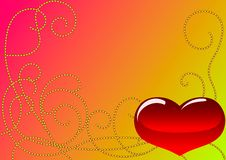 Free Red Heart Royalty Free Stock Photography - 17815257