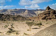 Free View On Arava Desert, Israel Stock Images - 17815964