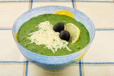 Cream-soup Stock Photo