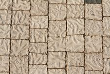 Free The Stone Floor Royalty Free Stock Photos - 17816088