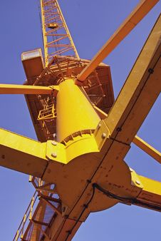 Big Cargo Crane Royalty Free Stock Photo