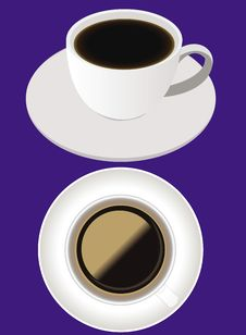 Free Coffee Cups Royalty Free Stock Images - 17816549