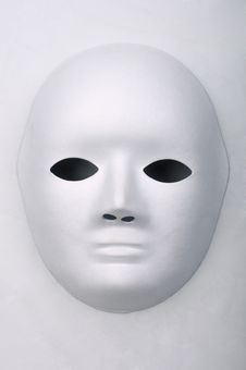 Free White Mask Royalty Free Stock Photo - 17816555