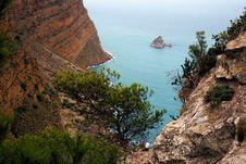 Free Benidorm Cliff Stock Image - 17816631
