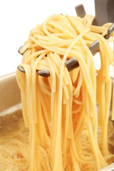 Free Boiling Spaghetti Royalty Free Stock Image - 17816896