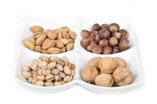 Free Four Kinds Of Popular Nuts Stock Photography - 17818332