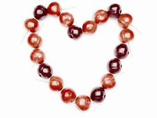 Free Heart From Red Cherry Stock Photos - 17818343