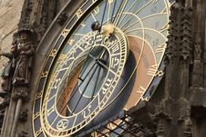 Free Astrological Clock In Prague, Czech Republic Royalty Free Stock Images - 17818529