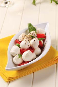 Free Caprese Salad Stock Image - 17818541