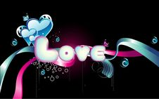 Free Background Love Illustration Stock Photos - 17818843