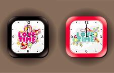 Free Clock Design Royalty Free Stock Photography - 17818847