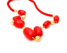 Free Red Necklace Stock Images - 17818884