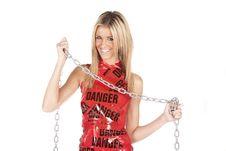 Free Danger Chain Smile Stock Photos - 17818893
