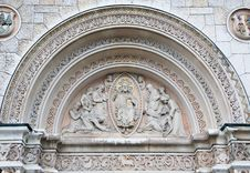 Free Carvings From The Cathedral In Olten Switzerland Royalty Free Stock Photos - 17819568