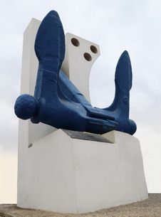 Free Monument Of Anchor In Eilat City, Israel Stock Photos - 17819633