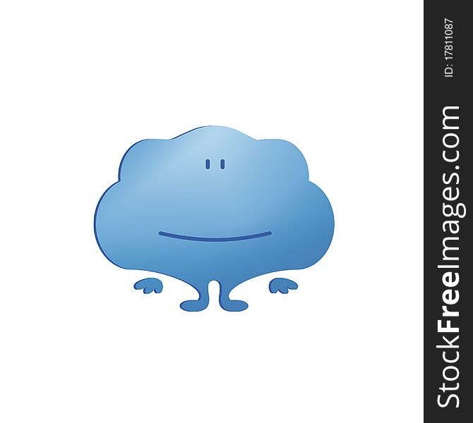 Smiley Cloud Free Stock Images Photos 17811087