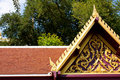 Free Thai Temple Art Roof. Stock Images - 17821464