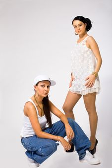 Free Young Woman And Tomboy - Rnb Culture Stock Image - 17820091