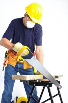 Free Mature Contractor Royalty Free Stock Image - 17821016