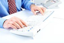 Free White Keyboard Stock Images - 17821064