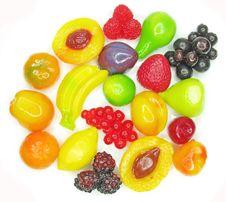 Free Marmalade Gelatin Fruits Royalty Free Stock Image - 17821166