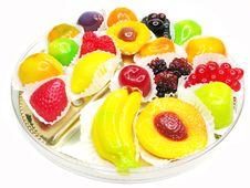 Free Marmalade Gelatin Fruits Stock Image - 17821421