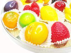 Free Marmalade Gelatin Fruits Stock Photography - 17821432