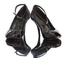 Free Black Shoe Stock Photography - 17821502