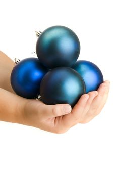 Free Balls In Child Hands Royalty Free Stock Photography - 17821567