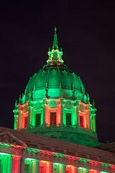 Free San Francisco City Hall Dome Stock Photo - 17821810