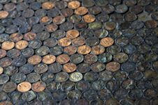 Free Penny Floor Stock Images - 17821814