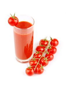 Free Fresh Tomato Juice Royalty Free Stock Photography - 17821997