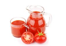 Free Fresh Tomato Juice Royalty Free Stock Photo - 17822025